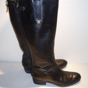 Sam Edelman Black Leather Boots-Sz. 7.5 M